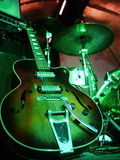 Gitarrenstadium elektrisch stockfotografie