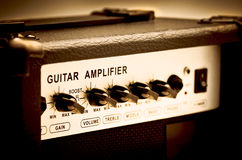 Gitarrenverstärker Lizenzfreies Stockbild