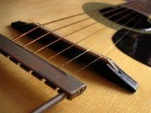 Gitarrenzeichenketten Lizenzfreies Stockbild