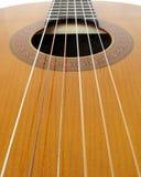 Gitarrenzeichenketten Lizenzfreie Stockbilder
