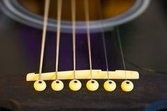 Gitarrenzeichenketten. Stockbilder
