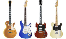 Gitarrer vektor illustrationer