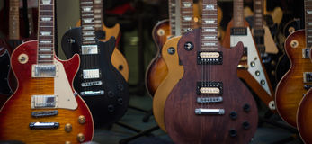 gitarrer Arkivbilder