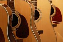 gitarrer Arkivfoto