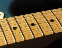 GitarrFretboard detalj Arkivfoton