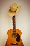gitarrhatt Royaltyfri Bild