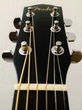 Gitarrheadstock Royaltyfria Bilder