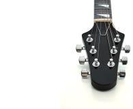gitarrheadstock Arkivbild