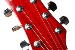 gitarrhuvud Royaltyfri Fotografi