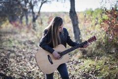 gitarrist fotografering för bildbyråer