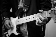 gitarrist royaltyfria bilder