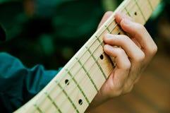 Gitarrist Lizenzfreie Stockbilder