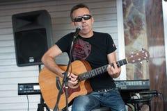 Gitarrist Lizenzfreie Stockfotos