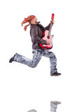 Gitarrist Stockfoto