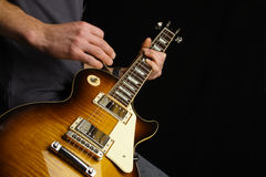 gitarrist arkivfoton