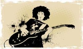 Gitarrist Stockfotografie