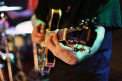 gitarrist royaltyfri bild