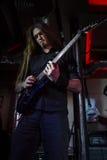 Gitarristen av oformlig verklighet Royaltyfri Bild