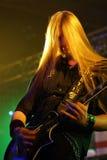 gitarristpump royaltyfri foto