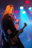gitarristpump royaltyfri fotografi