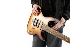 gitarristrock arkivfoton