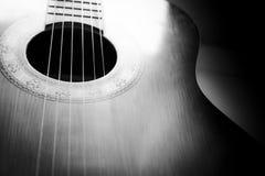 Gitarrkropp Arkivfoton