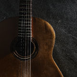 gitarrlivstid fortfarande Royaltyfri Foto