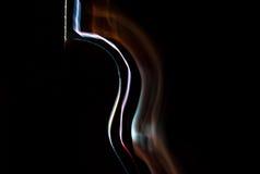 Gitarrljus fotografering för bildbyråer