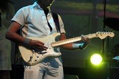 gitarrman royaltyfri bild