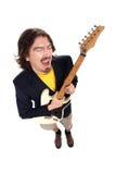 gitarrman Royaltyfri Fotografi