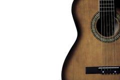 Gitarrmusik Arkivfoto