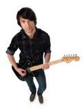 gitarrmusiker royaltyfri fotografi