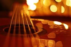 gitarrrader Royaltyfri Fotografi