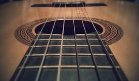 Gitarrrader arkivbild