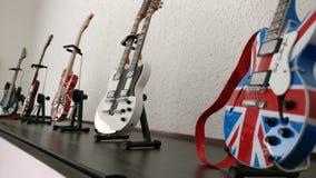 Gitarrsamling Arkivbilder