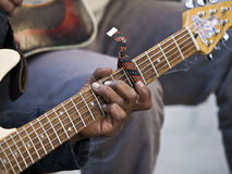 gitarrspelare Arkivfoto