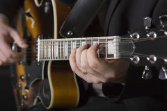 gitarrspelare Arkivbilder