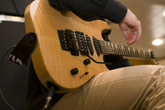 gitarrspelare Royaltyfria Bilder