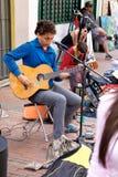 Gitarrspelaren Royaltyfri Fotografi