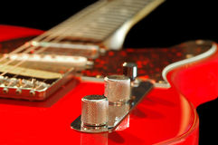 gitarrtappning Arkivbild