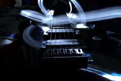 Gitary światło Zdjęcia Stock