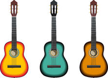 gitary Fotografia Stock