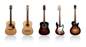 gitary Zdjęcie Stock