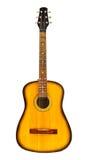 gitary akustycznej kolor żółty Zdjęcie Royalty Free