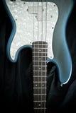 gitary basowa błękitny kość słoniowa Obraz Stock