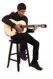 gitary bawić się Fotografia Stock