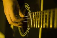 gitary bawić się Obrazy Royalty Free