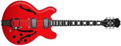 gitary czerwień Obrazy Stock