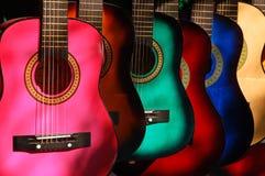 Gitary dla sprzedaży Zdjęcia Royalty Free