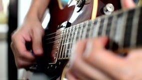 gitary elektrycznej bawi? si? zbiory wideo